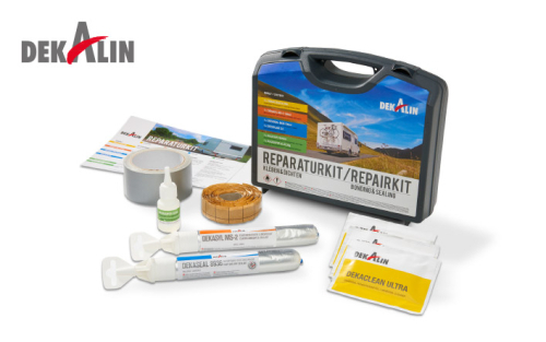 Dekalin repair kit for emergency repair to motorhomes or caravans fix leaks and seals, bond satalite ideal for kitchens & bathrooms BIg international